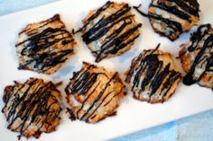 61 best passover treats images on pinterest passover recipes coconut macaroons with dark chocolate drizzle hugs n kitchen fandeluxe Images