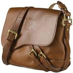 Lauren by Ralph Lauren Tremont Leather Across Body Handbag, Tan