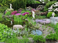 Teich schaffen Gartenbau Beautiful peaceful design