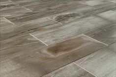 "Kaska Italian Porcelain Tile - Petrified Wood Series Gray / 6""x24"""