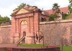 citadelle de Neuf-Brisach - le chef-d'œuvre de Vauban. Alsace