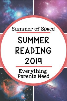 Summer Reading Program 2019 - Everything Parents Need for Kids' Summer Reading Success! Summer Activities For Kids, Summer Science, Space Activities, Stem Activities, Learning Activities, Outdoor Activities, Teaching Resources, Summer School, Summer Kids