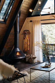 home fireplace modern * home fireplace ; home fireplace modern ; home fireplace rustic ; home fireplace ideas ; home fireplace with tv ; home fireplace stone ; home fireplace cozy ; home fireplace luxury Cottage In The Woods, Cozy Cottage, House In The Woods, Cabin On The Lake, Cabin In Woods, Small Lake Cabins, Big Bear Cabin, Cozy Cabin, Cabin Chic