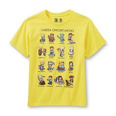 96fe5867b19 Minecraft Boy's Graphic T-Shirt - Career Opportunities Drenge, Tøj,  Drengeoutfits, Efterår