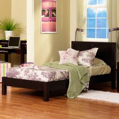 Modeno Platform Bed made of Solid Wood