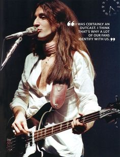 Geddy Lee. Son of Holocaust survivors...luckily became pals with Alex, and the rest is rock history.