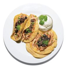 Quick chicken adobo and black-bean tacos. The recipe: http://www.menshealth.com/nutrition/shop-once-eat-week