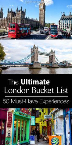 London Bucket List: