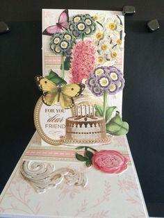Anna Griffin Pop Up Card
