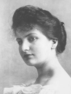 Alma Mahler - Werfel - A socialite and amateur composer known for her beauty and verve, Mahler was married to composer Gustav Mahler, architect Walter Gropius, and novelist Franz Werfel. She also undertook a strong flirtation with Gustav Klimt and affairs with numerous artists. She is often regaled as the definitive femme fatale of the early 20th century. http://www.huffingtonpost.com/2011/09/15/10-muses-and-mistresses-i_n_964669.html