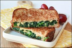 NEW grilled cheese recipes from Hungry Girl! Pin NOW!