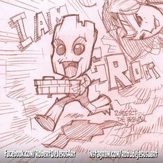 posted by rob_dejesus_art via instagram :   Live streamed a #Groot sketch too.  My Twitch channel: http://twitch.tv/banzchan  #iamgroot #babygroot #guardiansofthegalaxy #gotgvol2 #gotg #chibi #kawaii #anime #animesketch #animedrawing #animeillustration #manga #mangakawaii #mangaka #drawing #sketch #illustration #pencil #pencilsketch #pencildrawing #cartoon #twitch #twitchcreative #twitchtv #streamer #caster #livestream…