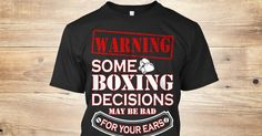 This boxing t-shirt is dedicated to all of the fighters who were robbed by a bogus judges' decision. Own yours today! https://teespring.com/boxing-decisions#pid=369&cid=6513&sid=front