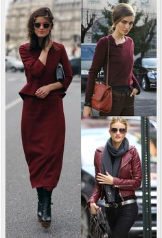 Oxblood Trend for Fall / Winter