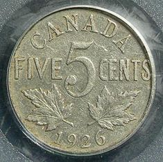 Top 10 Rare Canadian Nickels Top 10 rare Canadian nickels include the 1926 far 1947 dot, 1951 high relief, 1953 Shoulder Fold (SF) Far Maple Leaf, the 1925 and 1965 large beads. Rare Coins Worth Money, Valuable Coins, Valuable Pennies, Rare Pennies, Maple Leaf Images, Thousand Dollar Bill, Old Coins Value, Canadian Things, American Coins