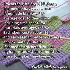 Couldn't resist pinning this, both as a afghan maker and recipient!!!