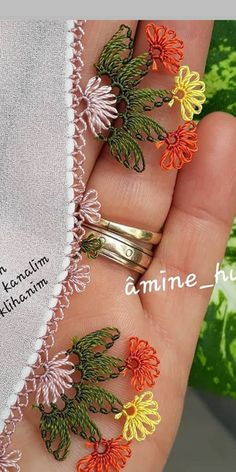Embroidery On Clothes, Needle Lace, Lace Making, Elsa, Needlework, Crochet Patterns, Bangles, Earrings, Jewelry