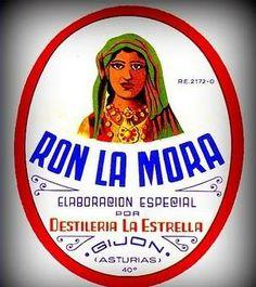 Ron LA MORA, elaborado por Destilería La Estrella, empresa fundada en 1940 en Gijón.