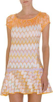 ShopStyle: Missoni Mini Flare Dress