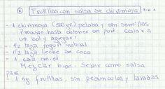 FRUTILLAS CON SALSA DE CHIRIMOYA   #DULCE #POSTRES #FRUTA #FRUTILLAS