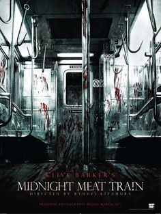 Clive Barker's Midnight Meat Train.  2008. ~ I really like this movie! Bradley Cooper was awesome in it.