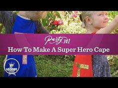 How to Make a Super Hero Cape | Hallmark Ideas & Inspiration