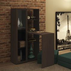 Zipcode™ Design Erica 6 Shelf Corner Desk Craftsman Desks, Modern Furniture, Furniture Design, Office Furniture, Smart Desk, Best Home Office Desk, Smart Home Control, Big Desk, Decoration