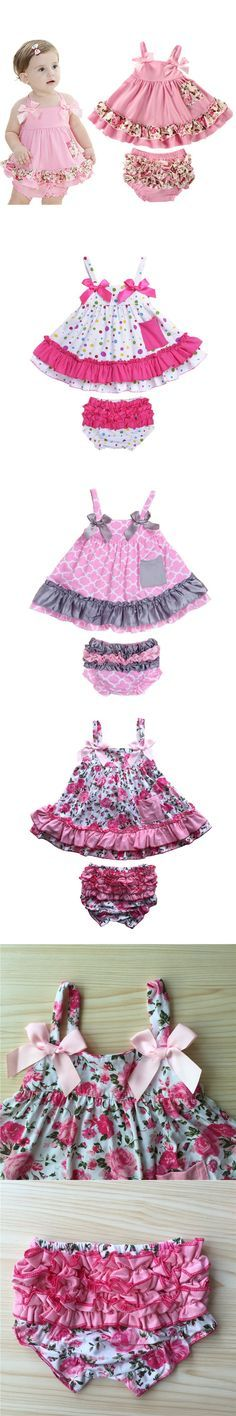 2016 Retail Baby Girl Dress Newborn Baby Girl Clothes Body Bodysuits Sling Bat Roupas Body Bebes Next Baby Clothing Set Newborn Girl Dresses, Baby Outfits Newborn, Baby Girl Newborn, Baby Boy Outfits, Kids Outfits, Girls Dresses, 1 Year Baby Dress, Sewing Baby Clothes, Little Girl Outfits
