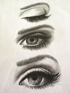 How to Draw female eye (959x1280)