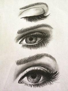 How to Draw female eye (959x1280)