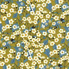 Liberty - Mitsi C Green - Alice Caroline - Liberty fabric, patterns, kits and more - Liberty of London fabric online