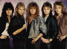 Image detail for -Collection: EUROPE BAND : BIOGRAPHY
