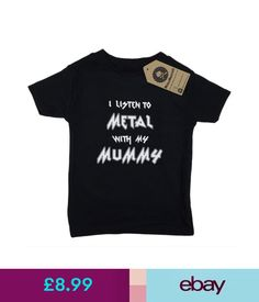Other Clothing, Shoes & Accs. Metallimonsters Metal Mummy T-Shirt Black Alternative Goth Punk Rock Baby Gift #ebay #Home & Garden