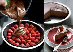 Strawberry-Chocolate-Pie