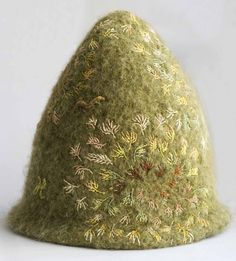 felted & embroidered - lots of other gorgeousness on this site