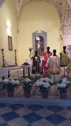 Mostra dei paramenti e arredi sacri della Chiesa di San Giovanni dei Fiori - Cappella del Gremio dei Contadini. #oristano #maperti15