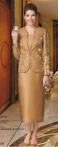 Nina 6310 Dressy Ladies Suits for a Wedding - Fall 2012