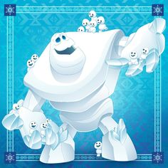 These ❄❄❄ don't fall far from the ⛄Frozen, October 2016 Computer Animation, Animation Film, Princess Mural, Disney Princess, Disney Sidekicks, Disney Characters, Disney Art, Disney Pixar, Festa Frozen Fever