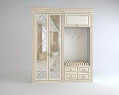 Шкаф серия классика для прихожей проект 763. Шкаф может быть выполнен на заказ по Вашим размера. Доступны на выбор несколько типов фрезеровок фасадов шкафа и более 30 цветов эмали. Производитель мебели на заказ Деметра Вудмарк осуществляет комплексные проекты - от классического до современного стиля.