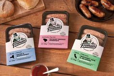Abe Fromans Sausage - The Dieline -