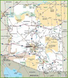 Utah Road Map - UT Road Map - Utah Highway Map | State Maps ...