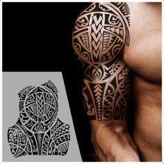 Fighter half sleeve tattoo                                                                                                                                                                                 More #maoritattooshombro