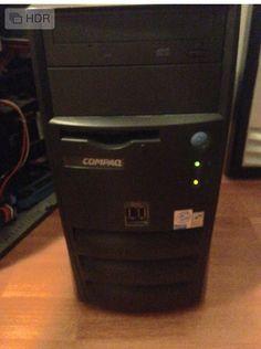 """Tenemos en venta computadoras de escritorio, de marca HP compaq Evo, con procesador pentium4 a 1.8ghz, disco duro de 30gb,programas instalados, antivirus, office (Excel,Word,power point) ideal para trabajos de escuela, internet o ciber café en $500. Con monitor crt de 14"""", no incluye teclado ni mouse, con garantía, informes www.LimpioTuCompu.com - 044-771-7777-137 @Limpio tu Compu® ."""