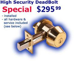 A high-security deadbolt with an exclusive keyway is absolutely un-bumpable.  #Lock #bumping #MrLockSmith. http://surreylocksmith.ca