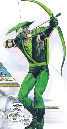 Green Arrow by Mike Grell