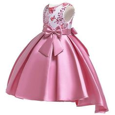Picture 2 of 11 Girls Formal Dresses, Gowns For Girls, Frocks For Girls, Girls Party Dress, Little Girl Dresses, Dress For Girl Child, Kids Dress Wear, Princess Dress Kids, African Dresses For Kids