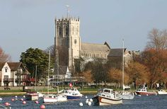 Christchurch, Dorset, England. My beautiful home town.