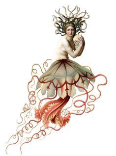 jelly fish mermaid