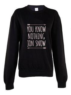 Vous ne savez rien Jon Snow Femmes de chemise par TENNERLONDON
