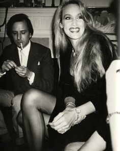 Check out Andy Warhol, Andy Warhol, Photograph of Fred Hughes and Jerry Hall circa 1980 (ca. 1980), From Hedges Projects Bianca Jagger, Mick Jagger, Andy Warhol, Brooke Shields, Gianni Versace, Vogue Paris, Audrey Fluerot, Lynn Wyatt, Photos Rares